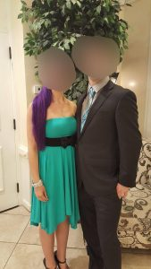 Young Couple that attends YCP in Chicago swinger